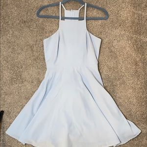Little baby blue dress